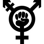 Trans feminist symbol, designed by Helen G
