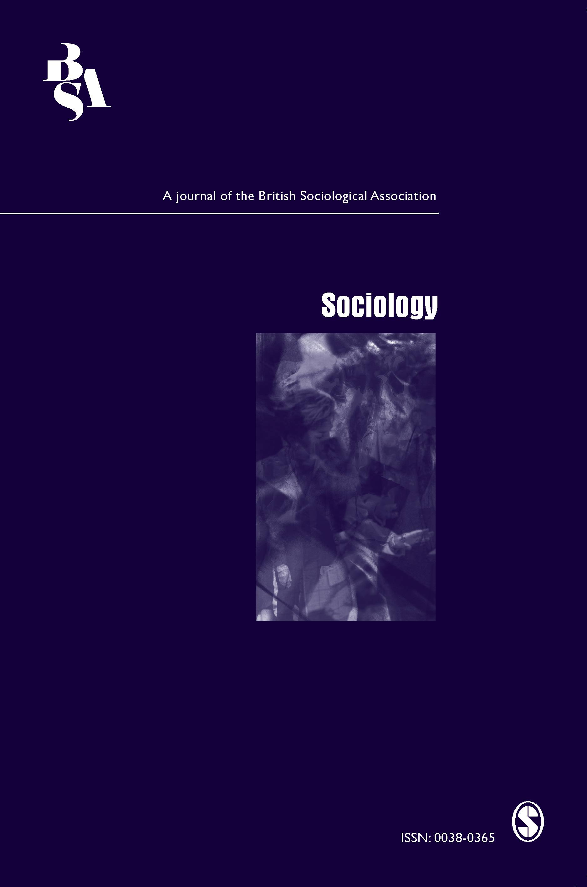 Cover image of the journal Sociology.