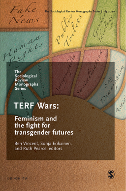 Cover of the Sociological Review Monograph: TERF Wars.